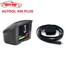 AUTOOL 2.4 pulgadas Multi-Función de Coche OBD Inteligente Medidor Digital de Código de Fallo y Alarma de temperatura del Agua medidor de voltaje velocidad pantalla del medidor