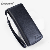 52 Slots zipper card bag leather men business card holder women's credit card package Fashion Large capacity A74F