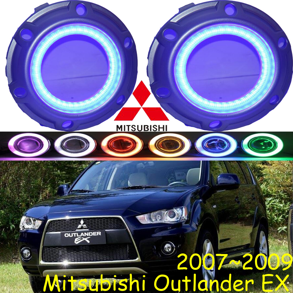 Outlander fog light,2007~2009,2pcs/set, Free ship!Outlander daytime light,LED,ASX teana fog light 2pcs set led sylphy daytime light free ship livina fog light