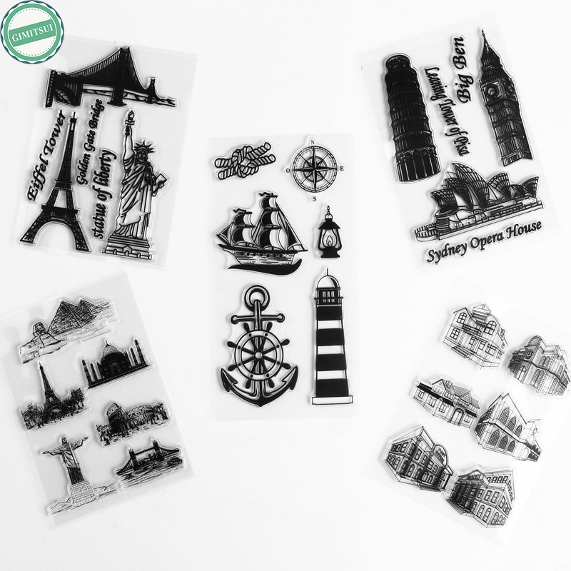 Фото Clear Stamps Transparent Silicone Seals Cards Arts, Crafts Sewing Scrapbooking DIY Diary Book Photo Album Paper Card Craft Tool