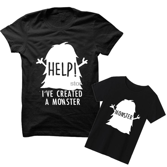 Iu0027ve Created A Monster Shirts T Shirt Tee Monster Child Kid New Parents Baby