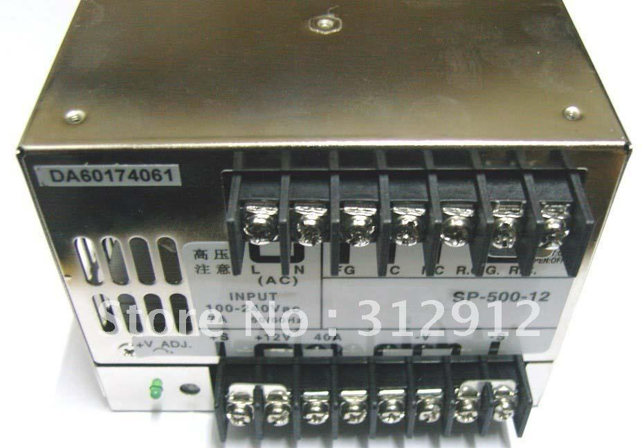 ФОТО 12V/24V/48V/500W switch mode power supply,size;170*120*93mm,led driver,led power supply;bigger one