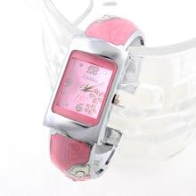 Marca de moda de Lujo Cristales Llenos de Acero Relojes de Las Mujeres Del Trébol Pulsera de Cuarzo Relojes Vestido Relojes reloj mujer relogio feminino