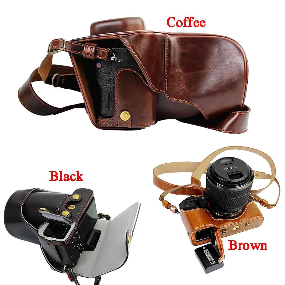 New Luxury Pu Leather Camera case For Sony A7II A7 Mark 2 A7R2 A7R II Camera