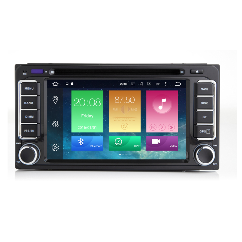 Android 8.0.1 6.2 Inch Car DVD Player For Toyota/Corolla Old Series Octa Core 2G RAM 32G ROM Wifi 3G/4G GPS NavigationRadio
