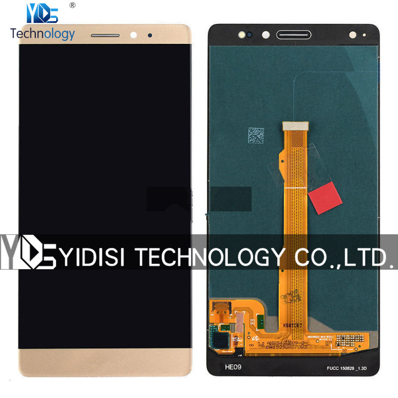 1PCS Original NEW LCD With Digitizer Assembly For Huawei Mate S LCD Display Touch Screen Replacement Parts With Tools
