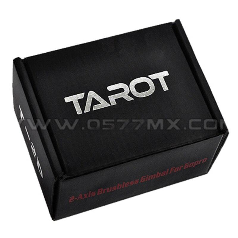 Tarot T-2D sans brosse cardan Gopro 3 photographie aérienne TL68A08 sans brosse caméra cardan 50% de réduction - 6
