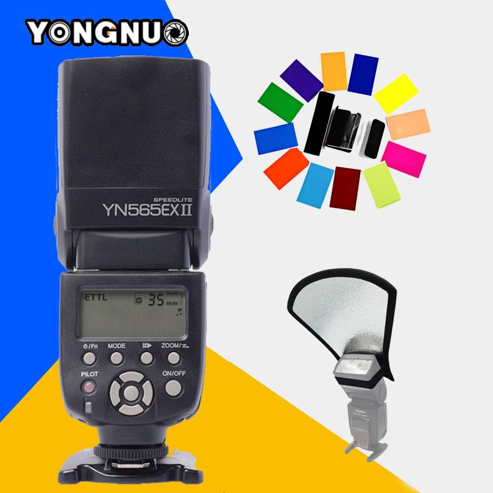 YONGNUO YN565EX II TTL Flash Speedlite YN-565EX II Light for Canon 5D Mark II  550D 600D 1000D 1100D 60D 70D 650D DSLR Camera yn e3 rt ttl radio trigger speedlite transmitter as st e3 rt for canon 600ex rt new arrival