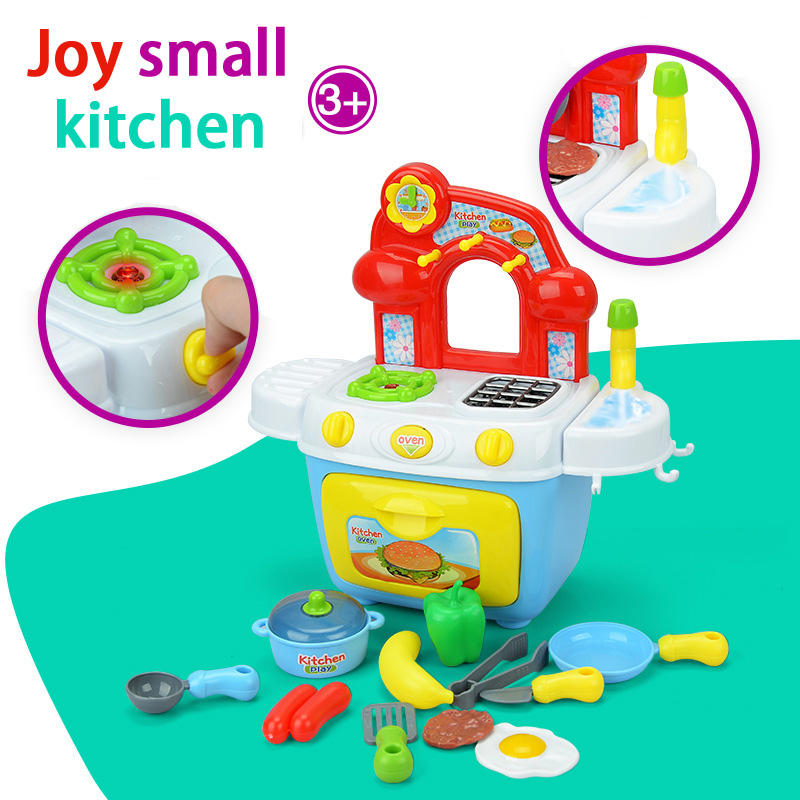 Lezonclub Kitchen Toys For Girls Boys Classic Cooking Toys
