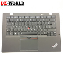 Touchpad Backlit-Keyboard Thinkpad W/palmrest BR for X1 Carbon 3rd Gen Brazilian Portuguese