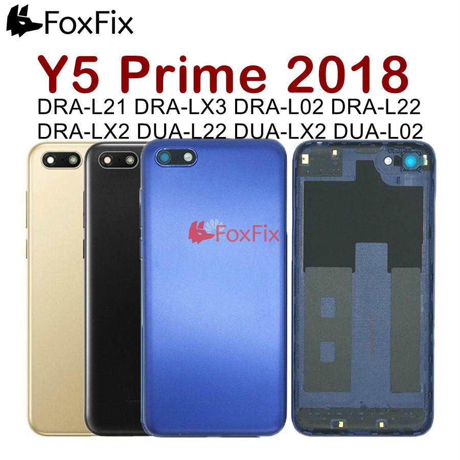 Original for <font><b>Huawei</b></font> Y5 Lite Back Cover Y5 Prime 2018 Rear Battery Door Housing Case <font><b>DRA</b></font>-L01 L02 <font><b>L21</b></font> L22 L23 <font><b>DRA</b></font> LX1 LX2 LX3 LX5 image