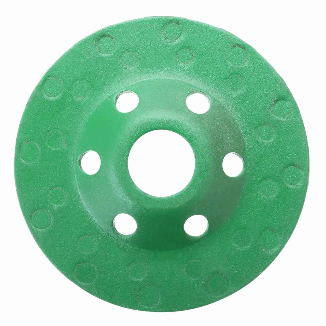 100 Mm 4 Inch Diamond Grinding Wheel Kualitas Beton Piala Roda Disc Batu Marmer Roda Tangan Alat