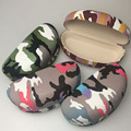 Camouflage Paisley Hard Big Case For Sunglasses Women Glasses Case Box Eyewear Container vintage sunglasses cases hard case