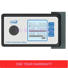 Solar Film Transmission Meter LS160 Portable Solar Film Tester measure UV Visible and Infrared transmission values ls162 transmission meter solar film window tint transmission meter the testing slot is up to 8mm can test filmed glass directly