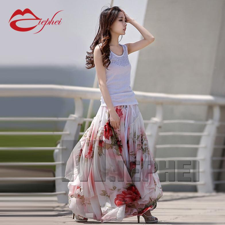 Online Buy Wholesale beautiful long skirts from China beautiful ...