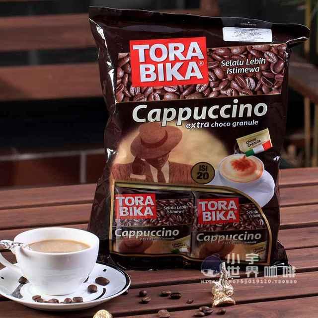 Bolsa de chocolate Torabika capuchino café en polvo-hombres café-café adultos
