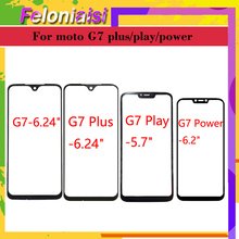 10pcs/lot For Motorola Moto G7 G7 Plus G7 Power G7 Play Front Outer Screen Panel Glass Lens Touch Screen LCD Cover  Replacement цена