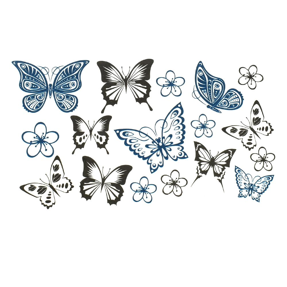 Top 9 Most Popular Tattoo Butterfly Designs Near Me And Get Free Shipping A303