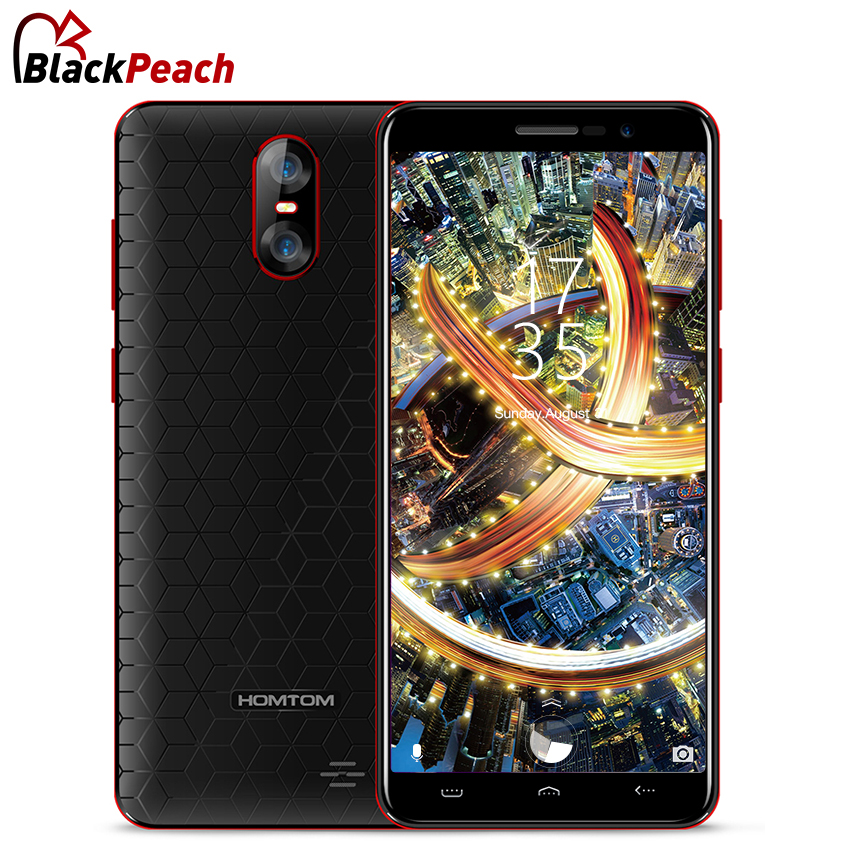 HOMTOM S12 5.0 inch 18:9 Display Mobile Phone MTK6580 Quad Core Android 6.0 1G RAM 8G ROM 2750mAh Dual Rear Camera 3G Smartphone