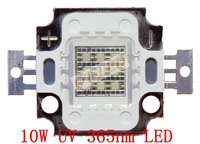 Freeshipping! איכות גבוהה 10 W 45MIL סגול UV/סגול 365nm LED DC 9-11 V אור סגול אור לגידול צמחים/טנק טנק דיג