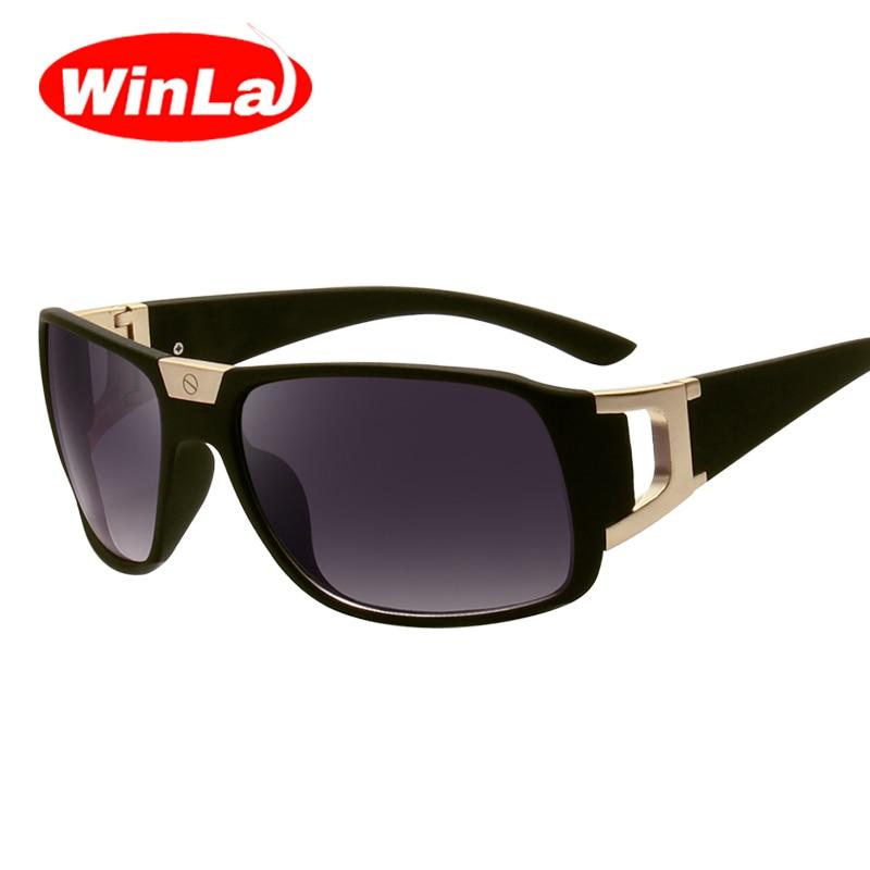 7b5ce110d2f59 Winla óculos de Sol Homens Mulheres Designer de Marca óculos de Lente  Gradiente Quadrado Estilo Verão Óculos UV400 Oculos de sol Masculino WL2447