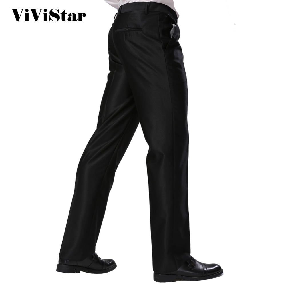 US $19.82 30% OFF|Formal Business Pants Black Skinny Fit Summer New Style  Dress Suits Pants Standard Euro size Silver Grey Black Plus Size F1317-in  ...