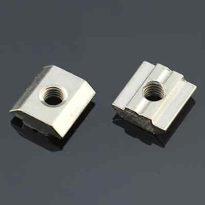 Hot selling M8 T Sliding Nut Block Slot 8 For 30 Series Zinc Plated Carbon Steel