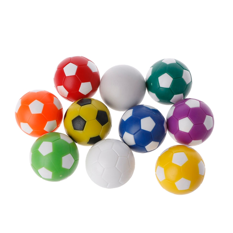 32mm Plastic Foosball Table Soccer Table Indoor Family Game Colorful Sports Toys