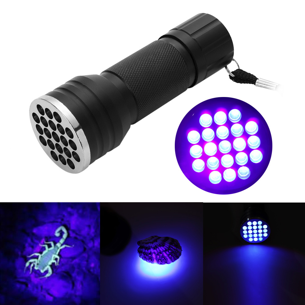 Lights & Lighting Led Flashlights Uv Ultra Violet Led Flashlight Blacklight Light 395 Nm Inspection Lamp Torch Uv Flashlight Torch Mini Hand Light Latarka Work