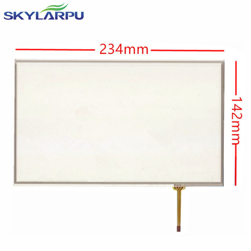 skylarpu 10.1 inch 4 wire Resistive Touch Screen 234mm*142mm Panel + Driven plate suite 234*142mm touch screen digitizer panel