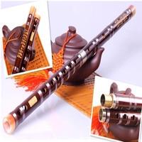 Transverse Bamboo Flute DIZI Open Hole C D E F G Key Flauta Musical Instrument Transverse Bamboo Flutes for Breginners