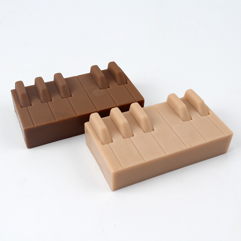 Silicone Soap Mold Handmade Piano Keyboard Shape Mould Craft Resin Decorating Tool