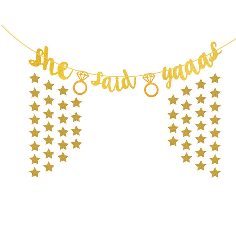 Detail Feedback Questions about 1PC glitter letter flag The