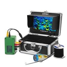 Lixada 7 дюймов 1000 TVLFishing камера комплект подводная камера для рыбалки 12 Светодиодная лампа рыболокатор озеро 15 м кабель ЕС/США штекер