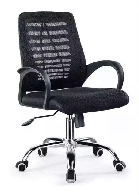Computer Chair Office With Conference Swivel Chairs Stainless Steel Wheel For Good Quality