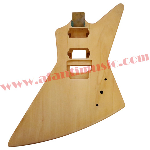 Afanti Music DIY guitar DIY Electric guitar body (ADK-057) 30 cm diameter afanti music gong afg 1082