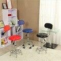 Cadeiras de couro Bancos de Bar Giratório Pneumático Heavy-duty Counter Altura Ajustável Cadeira Barstools Pub