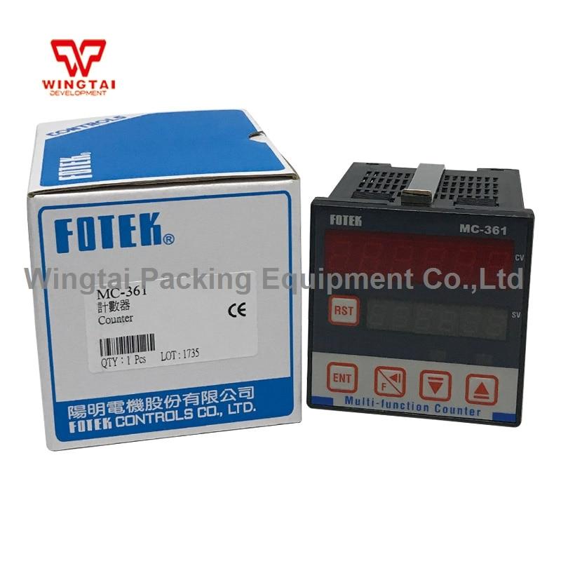 6 Digits Taiwan Fotek Digits Multifunctional Counter 5 digits taiwan fotek hc series digital counter hc 51p