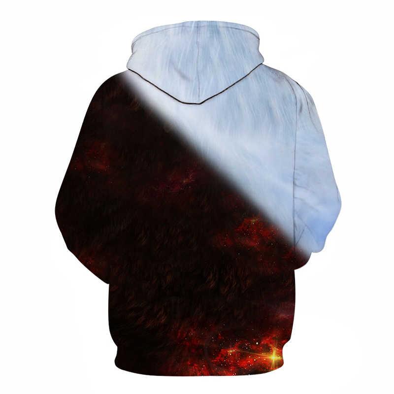 29546b0c4799 ... Wolf Printed Hoodies Men 3d Hoodies Brand Sweatshirts Boy Jackets  Quality Pullover Fashion Tracksuits Animal Streetwear ...