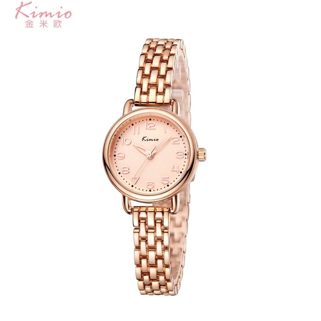 Kimio Rose Gold Stainless Steel Quartz Ladies Watch Women Bracelet Fashion  Watches Relogio Feminino Montre Femme Relojes Mujer c39afe714e9
