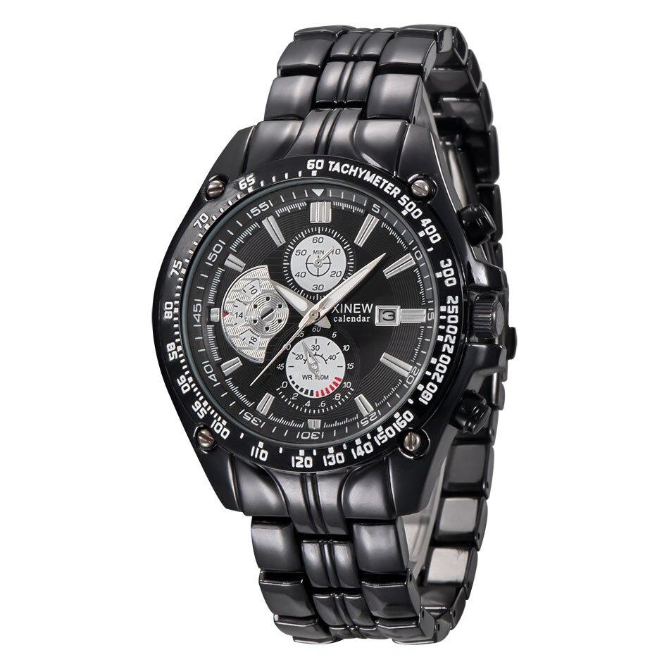 hodinky titan XINEW Brand Men s Military Watches Men Calendar Clock Luxury  Stainless Steel Quartz Wrist Watch Mens Relogio Mascu-in Quartz Watches  from ... 2bb984343be