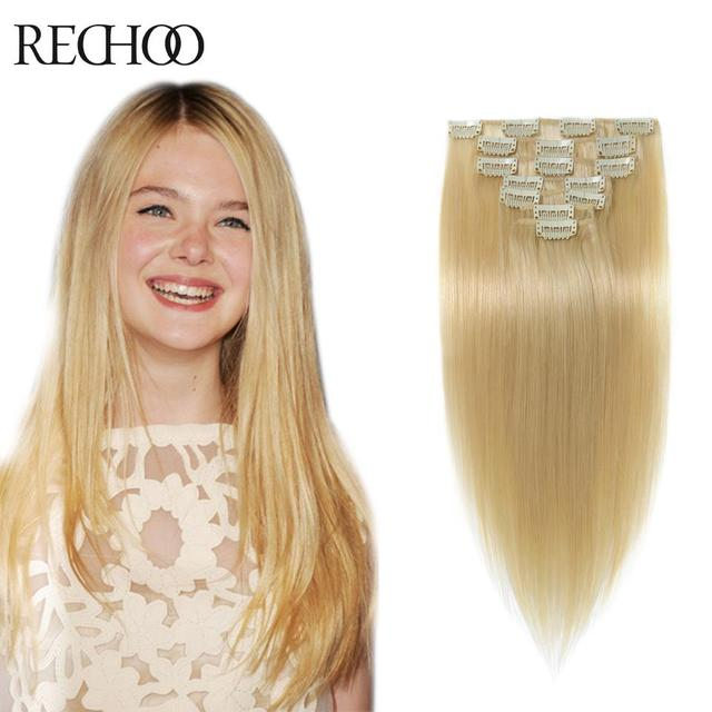 Aliexpress Buy Double Wefted Clip In Human Hair Extensions