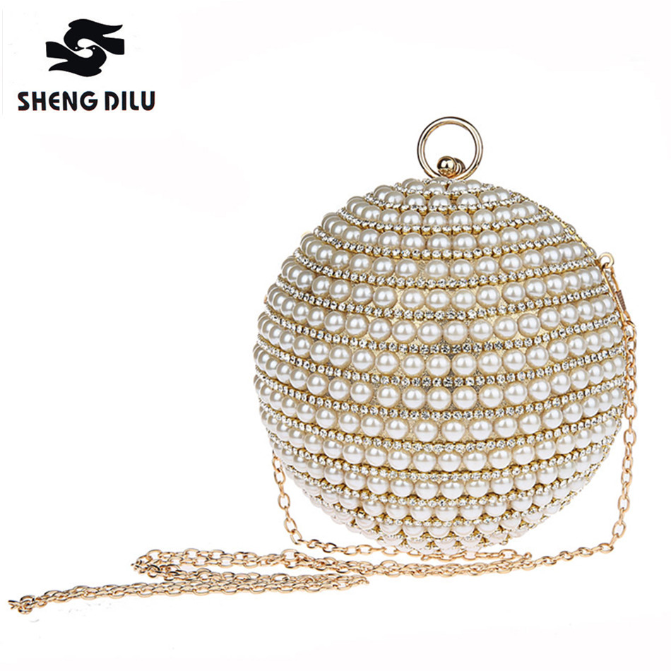 New 2017Luxury Women Beading Diamond Handbag Golden Wedding Clutches Evening Clutch Crystal Rhinestones Bag Party Handbags Purse 2017 women bags hot sale new luxury hollow diamond design evening bag clutch banquet crystal wedding handbags party handbag