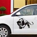 CS-1063#15*23,6см 30*47см наклейки на авто черная пантера водонепроницаемые наклейки на машину наклейка для авто автонаклейка стикер этикеты винила...