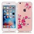 Coque Для iPhone 6 S 6 S Случае Симпатичные Красочные Картины роскошные Прозрачный ТПУ Телефон Случае Для iPhone 6 6 С Крышкой аксессуары