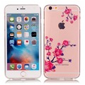 Coque For iPhone 6S 6 S Case Cute Colorful Painting Luxury Transparent TPU Phone Case For iPhone 6 6S Cover Accessories