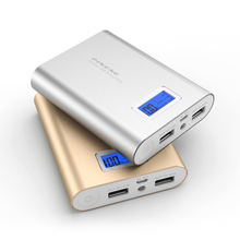 Оригинал PINENG Power Bank 10000 мАч Dual USB Внешняя Батарея Портативное Зарядное Powerbank для iphone7 Android Tablet PC