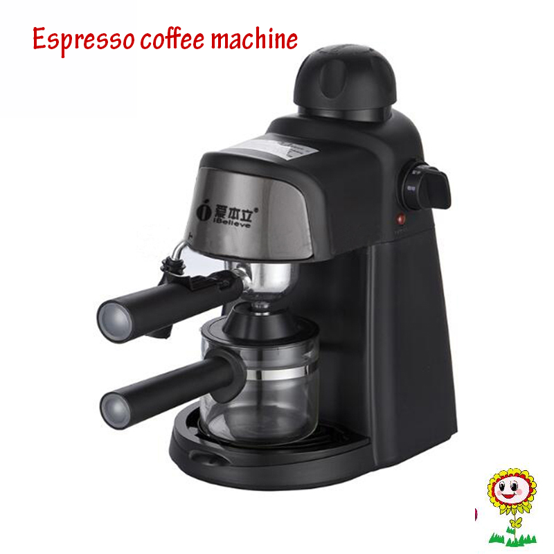 Semi-Automatic Coffee Maker  Italian American Coffee Machine  5bar Pump Pressure  Milk Foam Coffee Machine CM6810 xeoleo mini coffee maker automatic single cup coffee machine drip american coffee with ceramic cup as gift automatic insulation