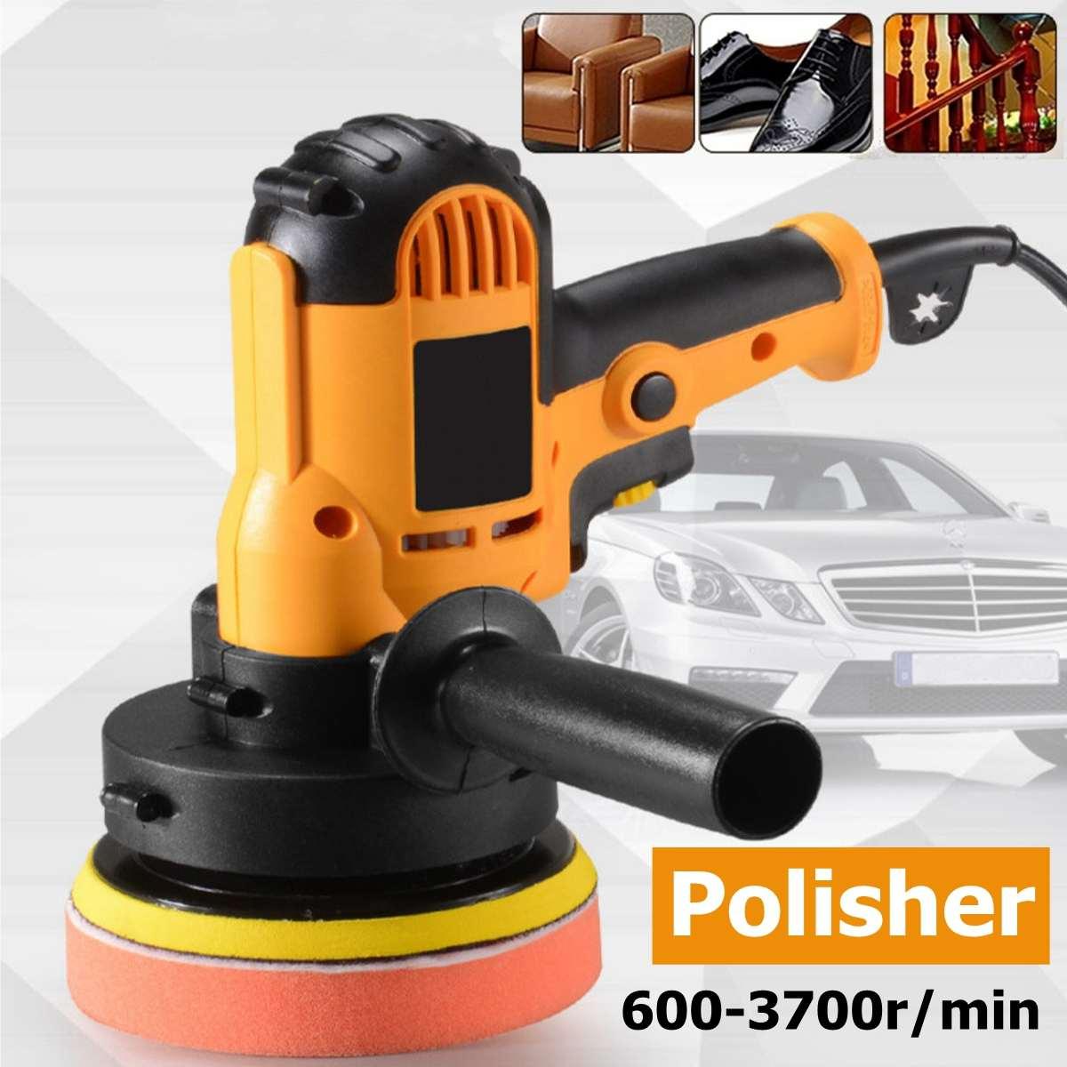700W Buffer Car Polisher Electric Car Polisher Waxer Variable Speeds Tool Household Waxing Polishing Machine