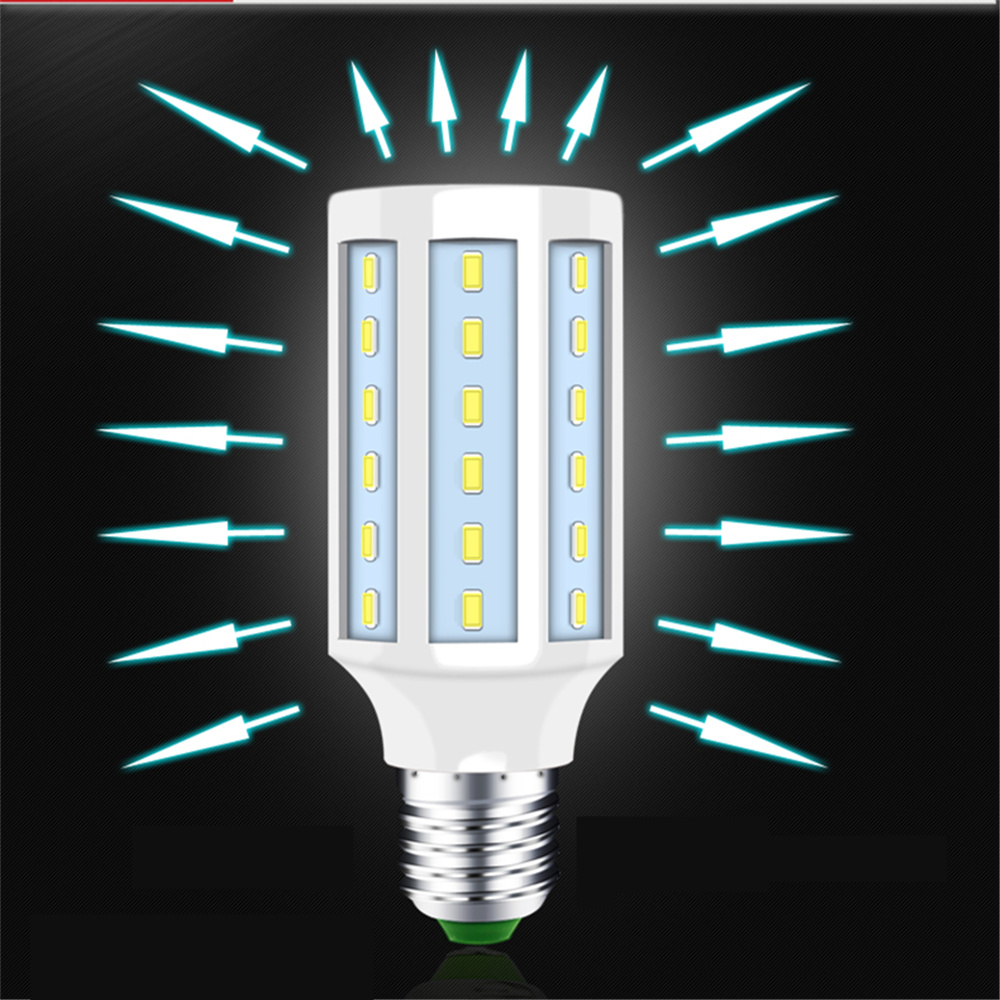 LED corn light led bulb light 5w 7w 10w 15w 20w 25w super bright 220v E27 energy saving lamp high power 5730 smd